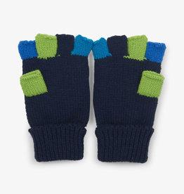 Hatley Navy Finger Flip Mittens
