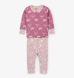 Hatley Darling Deer Baby Pajama Set