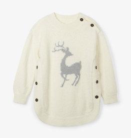Hatley Mistletoe Deer Sweater