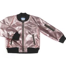 Kapital K Metallic Pink Bomber Jacket