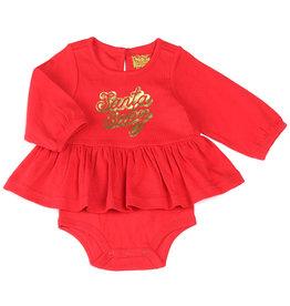 Kapital K Santa Baby Bodysuit Red
