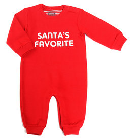 Kapital K Santa's Favorite Coverall Red
