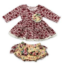 Mustard Pie Butterscotch Lucy Dress Set Robin Red