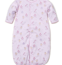 Kissy Kissy Pink Print Converter Gown Unicorn Magic