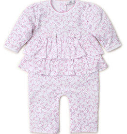 Kissy Kissy Twirly Toes Playsuit Pink