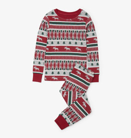 Hatley Winter Fair Isle Pajama Set