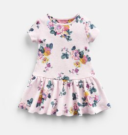 Joules Katy Dress Pink Marl Skelwith
