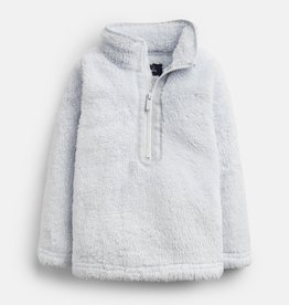 Joules Merridie Half Zip Fleece Ice Blue