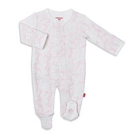 Magnificent Baby South Hampton Floral Organic Cotton Footie