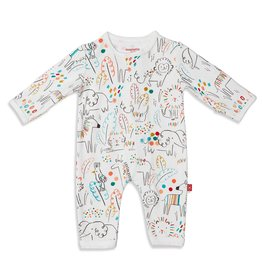 Magnificent Baby Pop Jungle Organic Cotton Coverall
