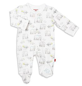 Magnificent Baby El Enfant Organic Cotton Footie