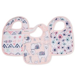 Aden & Anais Trail Blooms 3-Pack Classic Snap Bibs