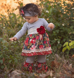 Haute Baby Autumn Blooms Swing Set