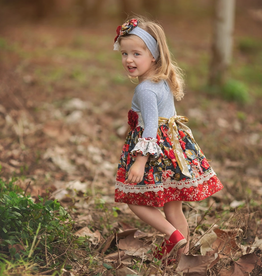 Haute Baby Autumn Blooms Dress