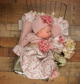 Haute Baby Misty Mauve Gown