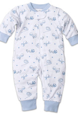 Kissy Kissy Zipper Print Pajamas Boys Games