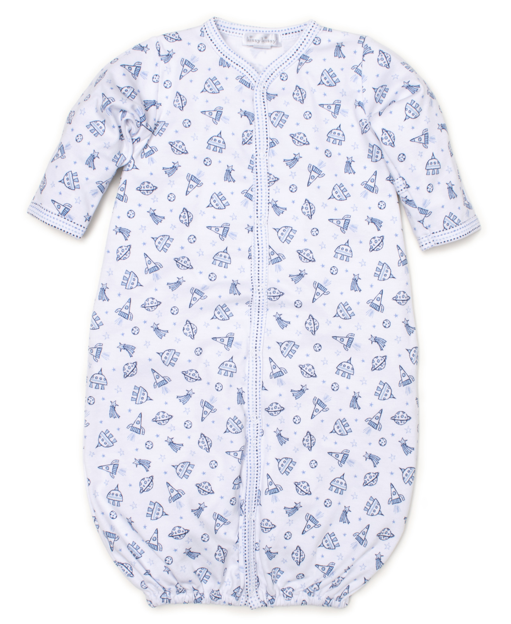 Kissy Kissy Print Converter Gown Rocket Science