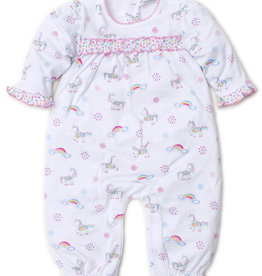 Kissy Kissy Print Playsuit Rainbow Unicorns