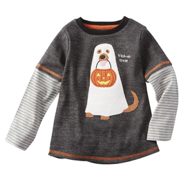Mud Pie Dog Ghost Halloween T-Shirt
