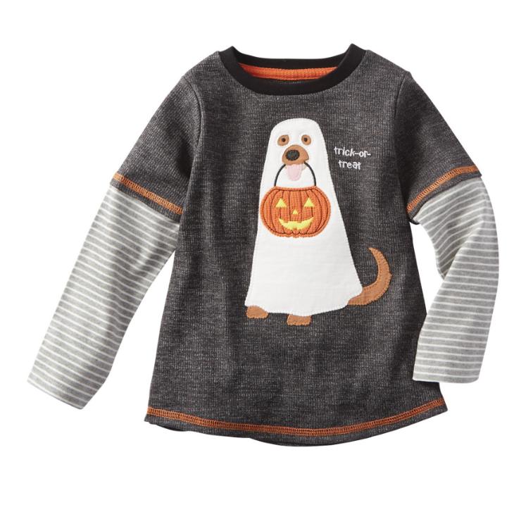 Mud Pie Dog Ghost Halloween T-Shirt