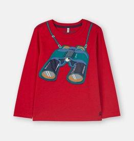 Joules Jack Shirt Red Binoculars