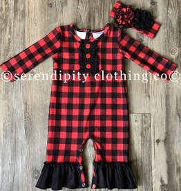 Serendipity Buffalo Plaid Longall