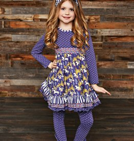 Serendipity Unicorn Ruffle Dress w/ Legging