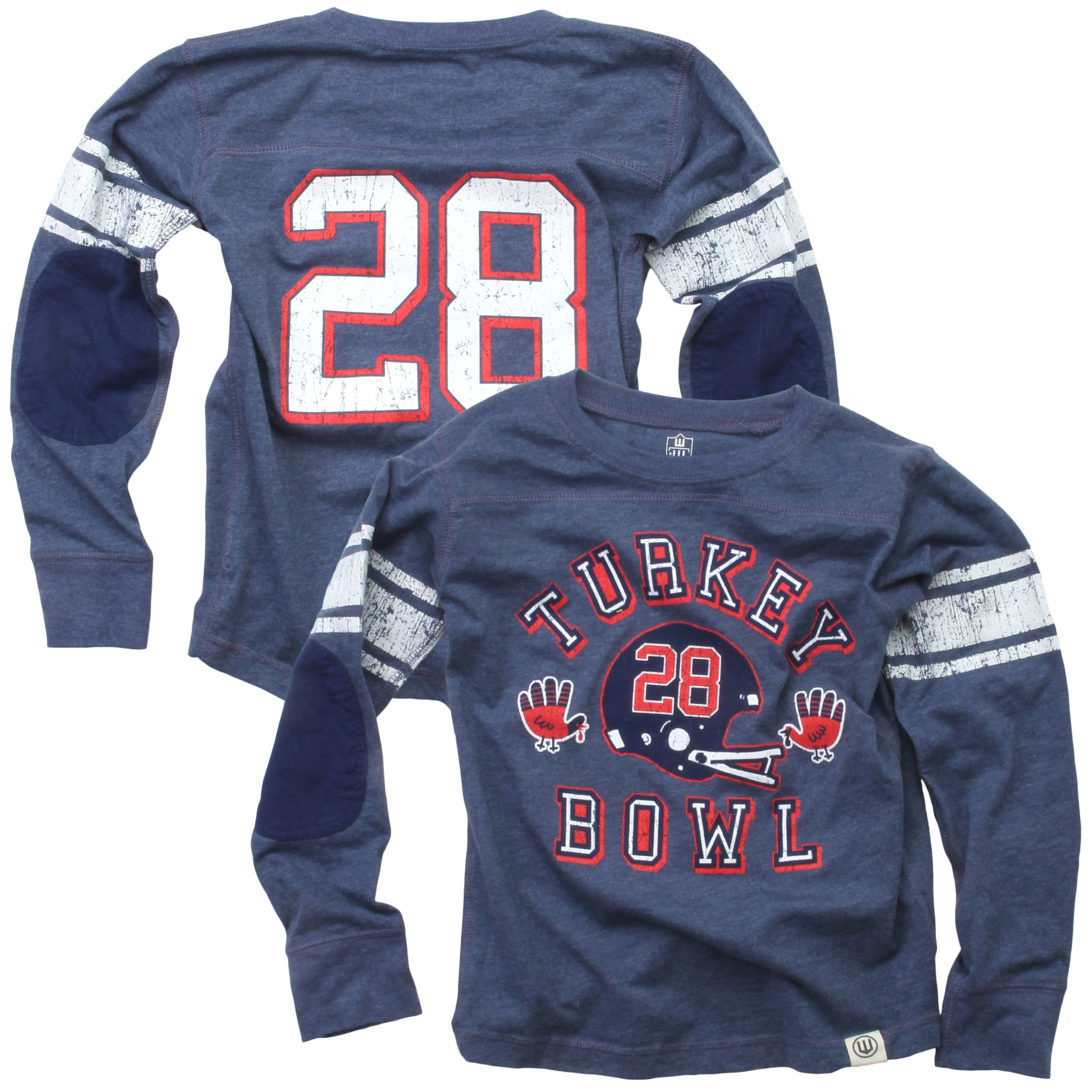 Wes And Willy LS Turkey Bowl Jersey Midnight