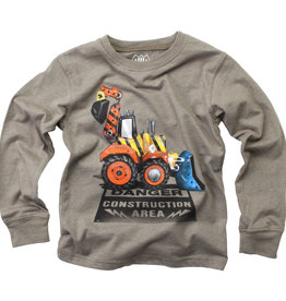 Wes And Willy Danger Truck Tee Od Green