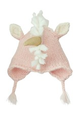 Mud Pie Pink Unicorn Hat INFANT