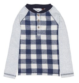 Fore!! Axel & Hudson Looped Gingham Henley