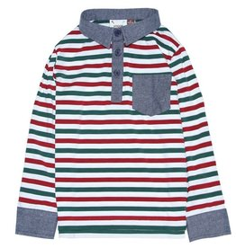 Fore!! Axel & Hudson Multi Color Stripe Polo