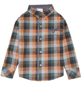 Fore!! Axel & Hudson Pumpkin Spice Plaid Flannel
