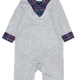 Fore!! Axel & Hudson Waffle Knit Sweater Romper