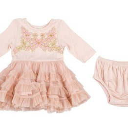 Mimi & Maggie Holiday Ballet Dress & Diaper Cover