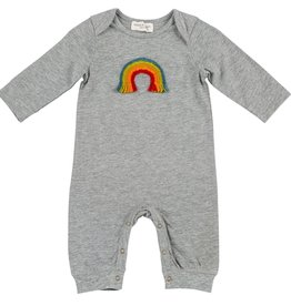 Mimi & Maggie Handicraft Rainbow Romper Grey