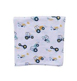 Kozi & Co Tractors Blanket 34 x 44