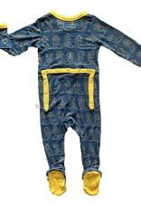 Kozi & Co Cowboy Boots Footed Pajamas