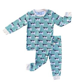 Kozi & Co Cows Long Sleeve Pajama Set