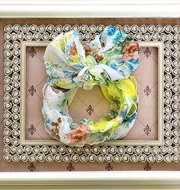 In Awe Couture Ruffle Headband Yellow Blossom