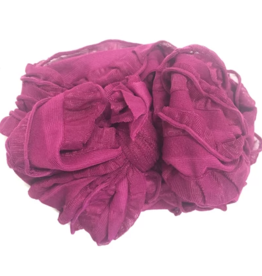 In Awe Couture Ruffle Headband Berry