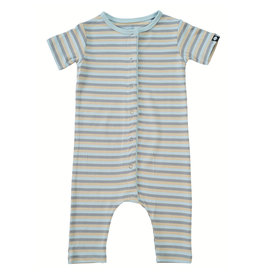 Sweet Bamboo Blue 3 Color Shortie Romper