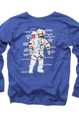 Wes And Willy Astronaut Tee Blue Moon Blend