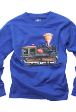 Wes And Willy Train Engine Tee Blue Moon