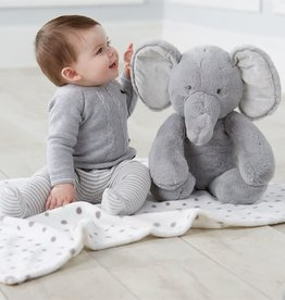 Mud Pie Elephant Plush with Blanket