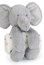 Mud Pie Elephant Plush with Blanket