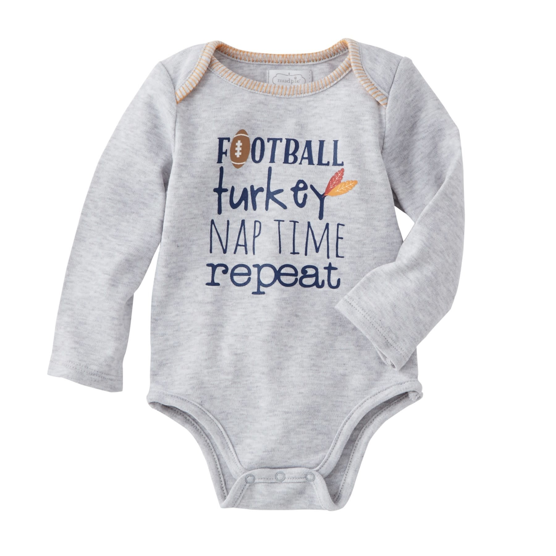 Mud Pie Football Turkey Crawler