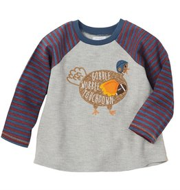 Mud Pie Gobble Wobble Turkey Shirt