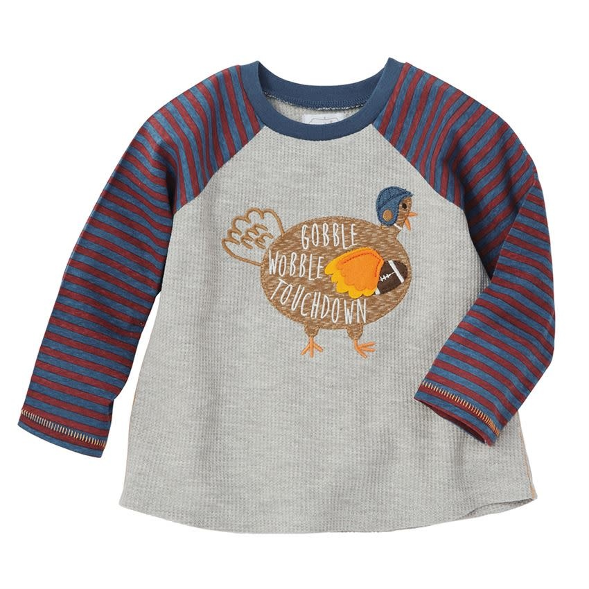 Mud Pie Gobble Wobble Turkey Shirt