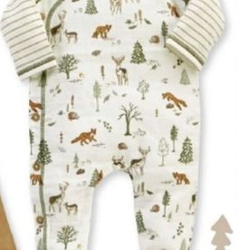 Mud Pie Muslin Forest Friends Sleeper